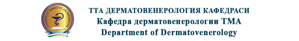 Department of Dermatovenerology of Tashkent Medical Academy